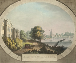 A view at Chelsea, 1784